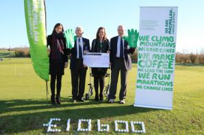 Golf club tees up £10k in donations